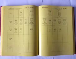 精装书模排模版2